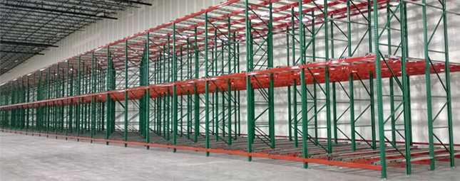 High Density Storage with great pallet selectivity
